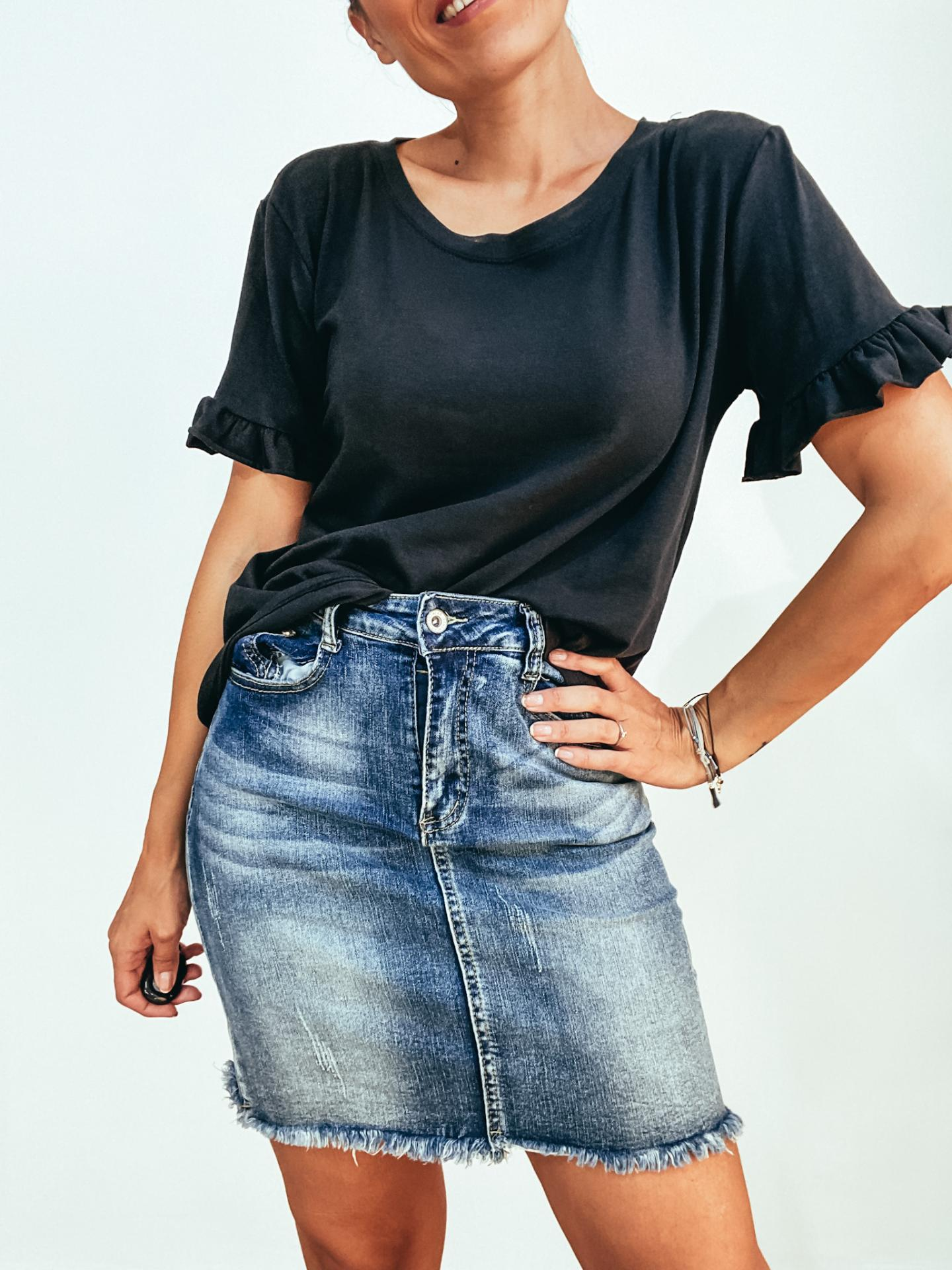 Camiseta LINER Negra