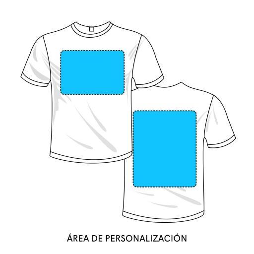 Camiseta Infantil - Pecho y espalda [1]