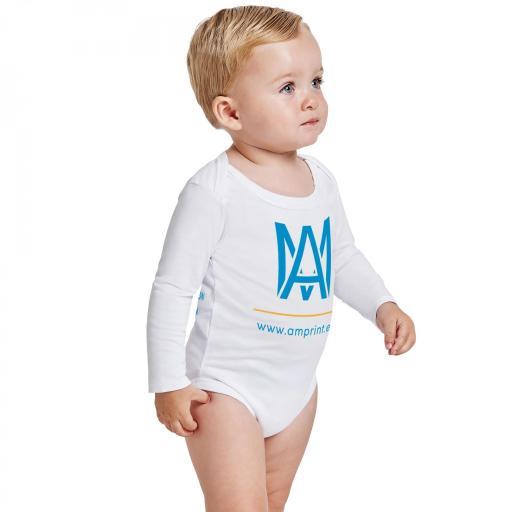 Body bebé - Manga larga 2 caras [1]