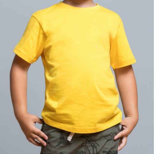 Camiseta Infantil - Pecho y espalda [2]