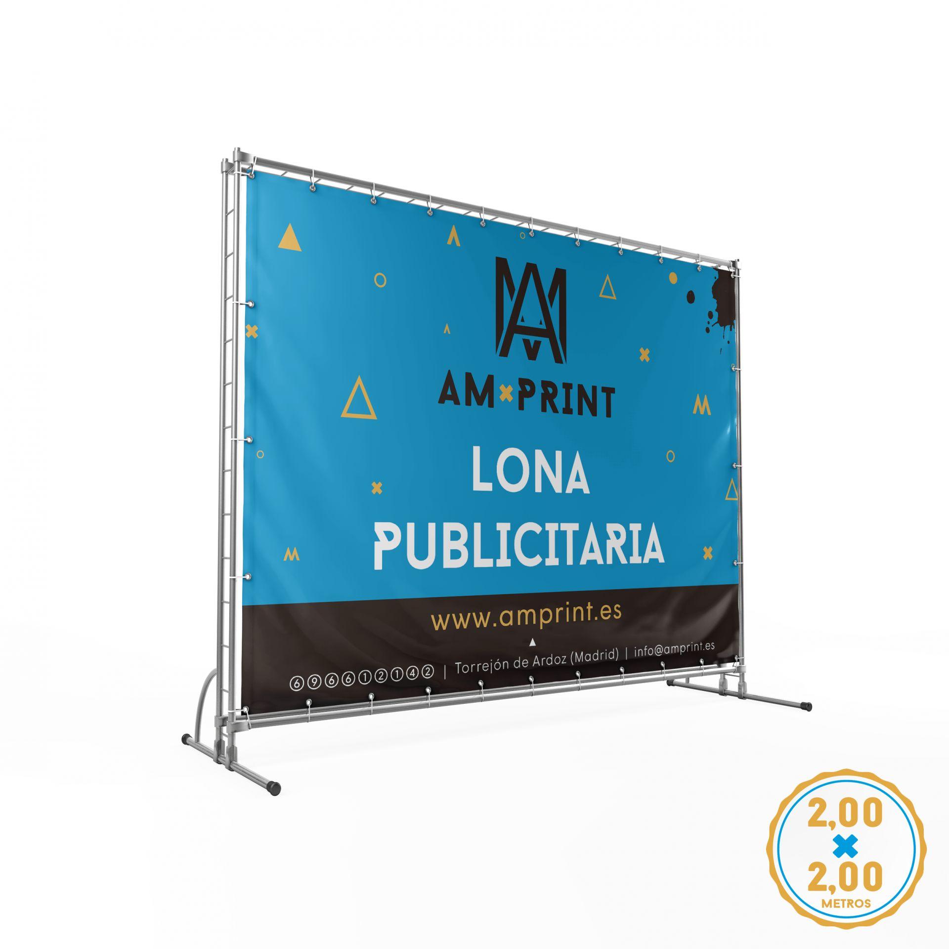 Lona - 2 x 2 m.