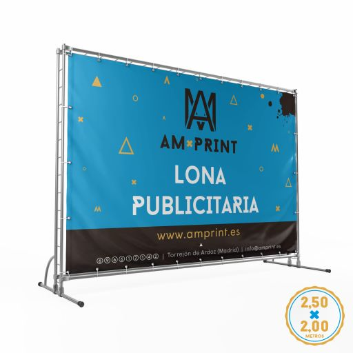 Lona - 2,5 x 2 m.