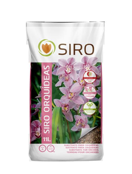 Tierra para orquideas 11 litros siro