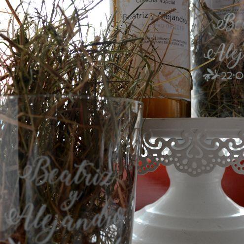 Botella de sidra 3/8 con Vaso Personalizado [1]