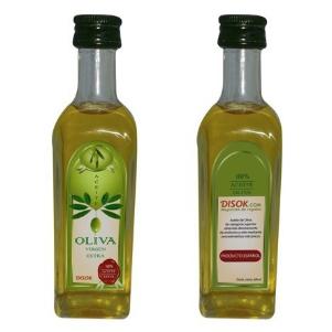Vacíabolsillos Botella de Sidra Grande con Aceite de Oliva  [2]
