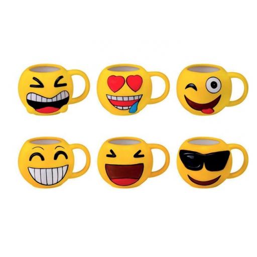 Taza Emoji set Merienda [2]
