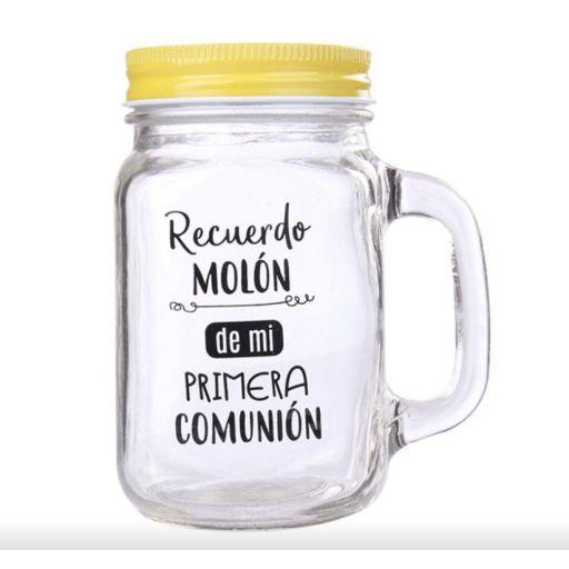 """Jarra Amarilla """"Recuerdo Molón de mi Primera Comunión"""" con Colacao [2]"""