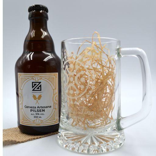 Cerveza Artesana con Jarra Personalizada [1]