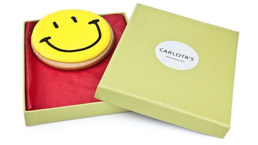 Carlota's Cards Galleta especial Regalo Sonríe [1]