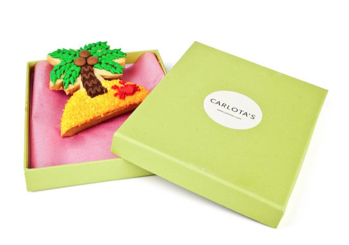 Carlota's Cards Galleta especial Regalo Isla