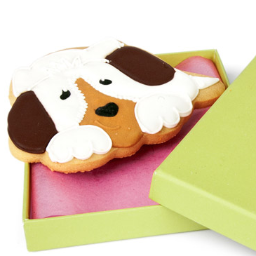 Carlota's Cards Galleta especial Regalo Puppi [0]