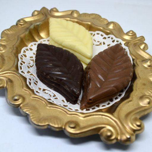 Hojas Chocolate Belga Surtido