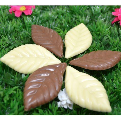 Hojas Chocolate Belga Surtido  [2]