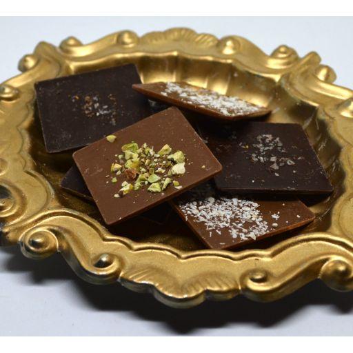 Láminas saborizadas Chocolate Belga Surtido