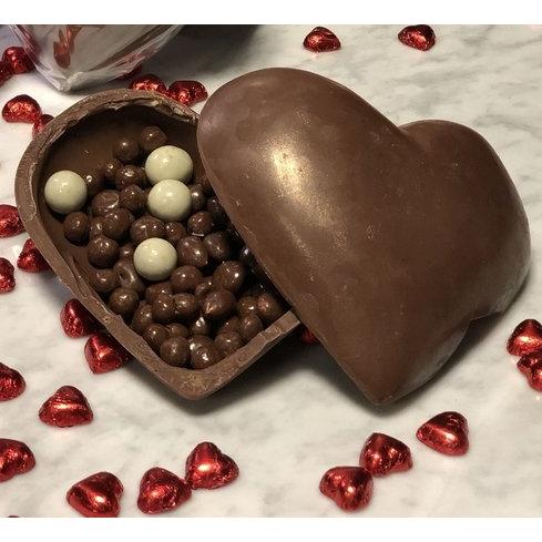 Caja Corazón Chocolate Belga