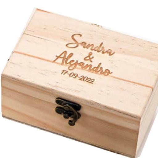 Caja de Arras Grabada