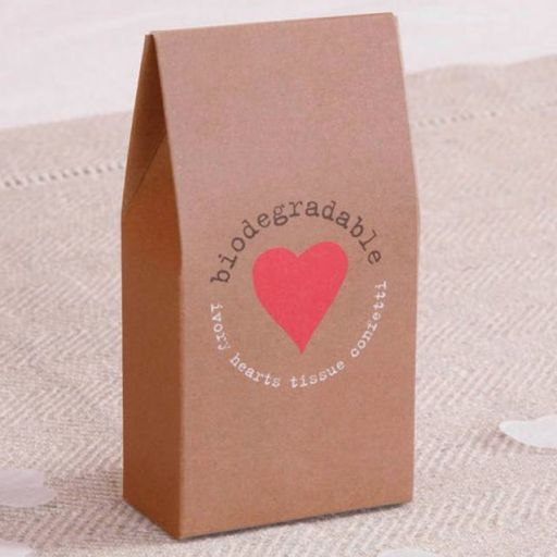Confeti Biodegradable Corazones