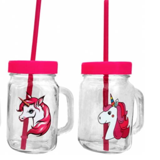 Jarra cristal Unicornios