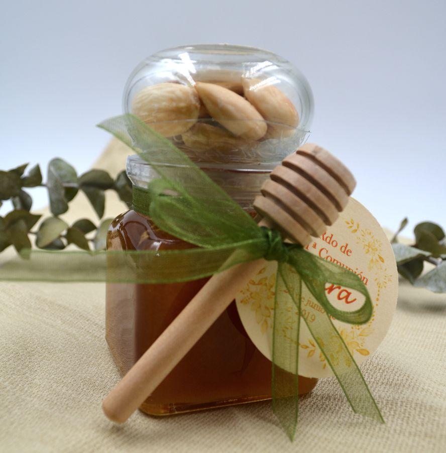 Miel con Frutos secos Nueces o Almendras