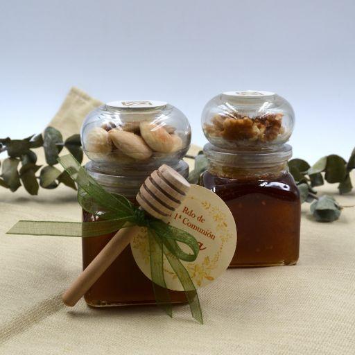 Miel con Frutos secos Nueces o Almendras [1]