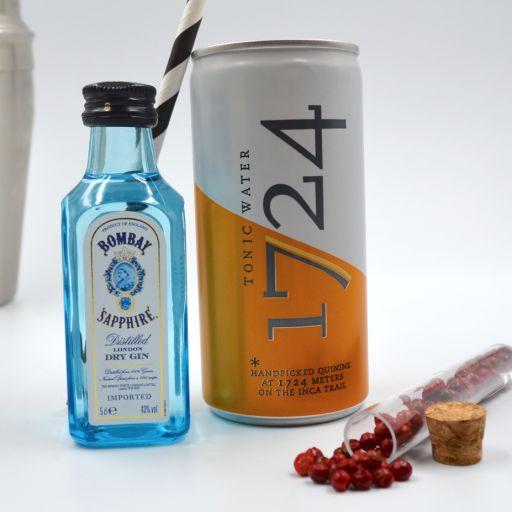 Kit Gin Tonic Bombay Saphire & Tonic Water 1724 [1]