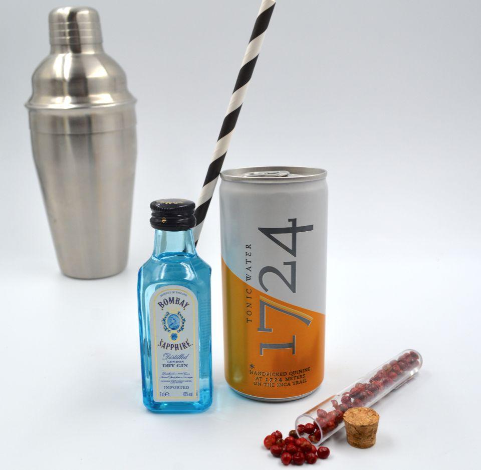 Kit Gin Tonic Bombay Saphire & Tonic Water 1724