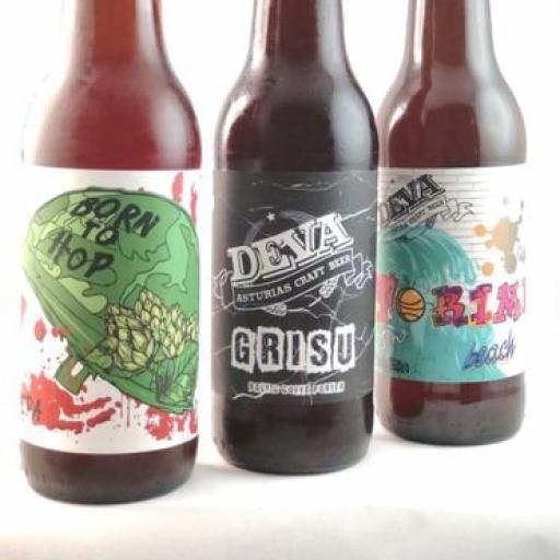 Cerveza Artesana con Etiqueta personalizada con abridor Ángel [1]
