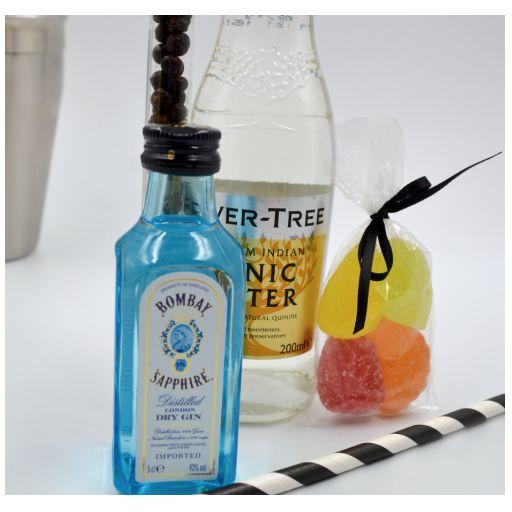 Kit Gin Tonic con Ginebra Bombay Saphife & Fever Tree Tónica [1]