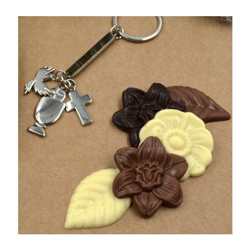 Cono con cierre  Comunión Grabado y Chocolate Belga  [2]