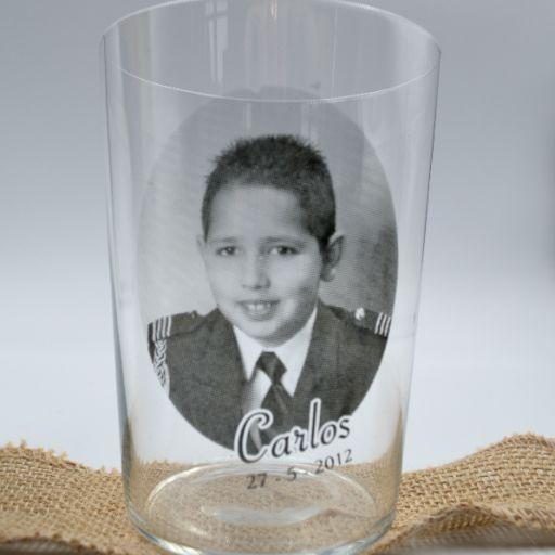 Vaso de Sidra Personalizado con FOTO