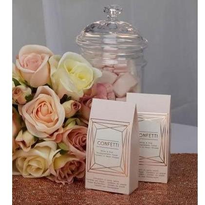 Cajas Corazones  Rose biodegradable