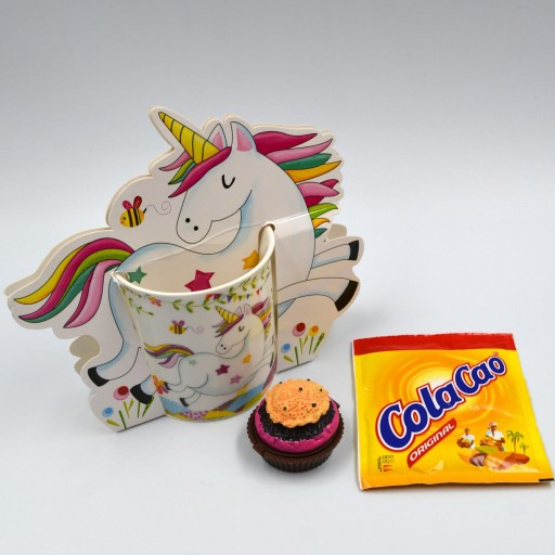 Taza Unicornio con Cupcake balsamo de Labios [0]