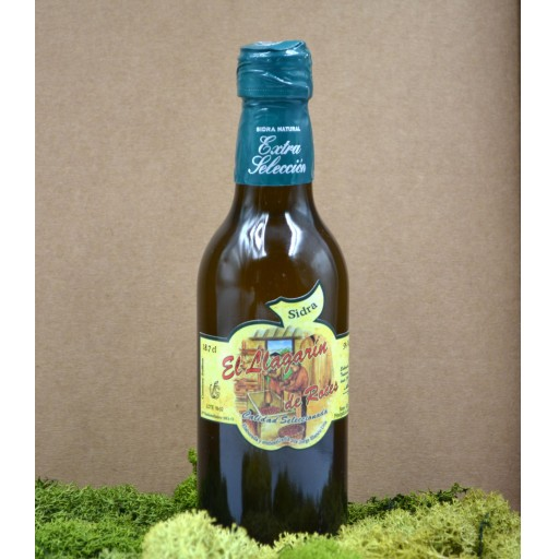 Vaso de Sidra Bautizo con Botella de Sidra Natural Llagarín [2]
