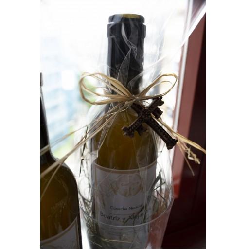 Botella de sidra 3/8 con Vaso Personalizado [2]