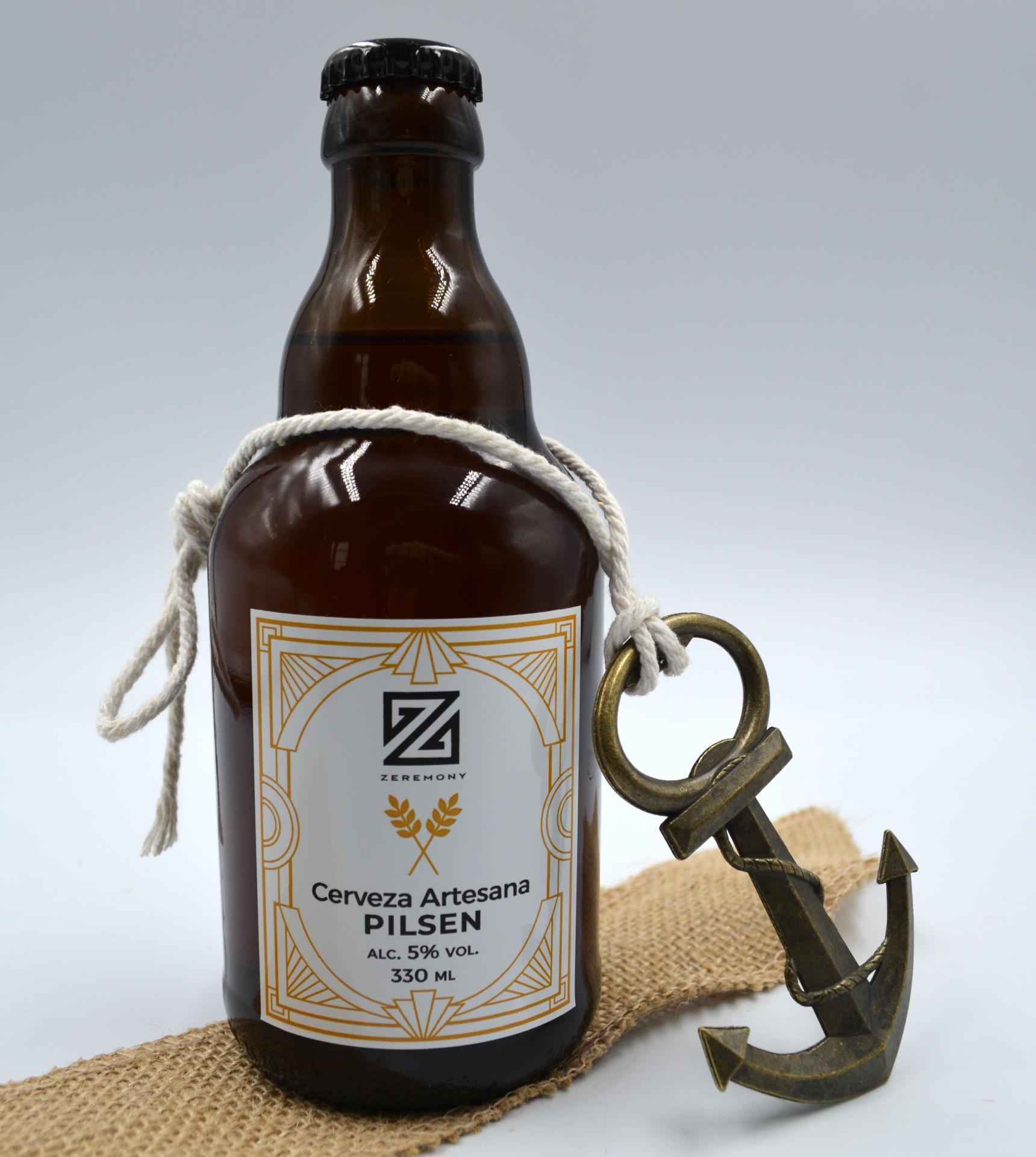 Cerveza Artesana con Abridor Ancla