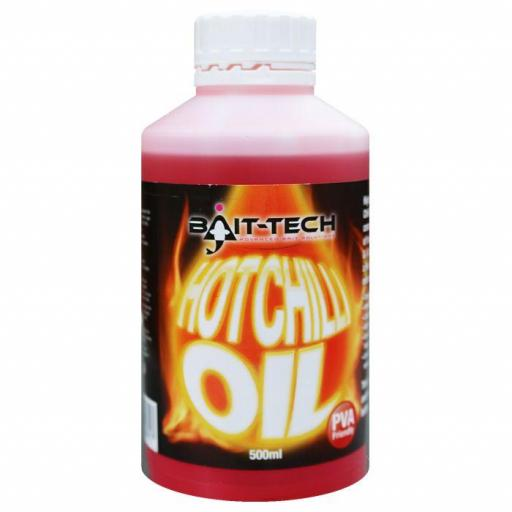 BAIT TECH HOT CHILI OIL  500ml