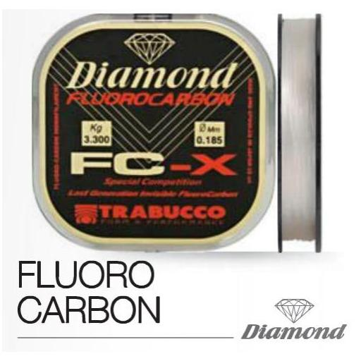 TRABUCCO DIAMOND FLUOR, 50 MTS.