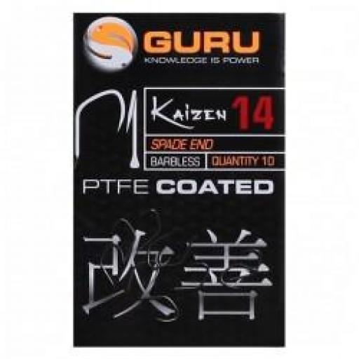 Guru Kaizen PTFE Coated Barbless Hook