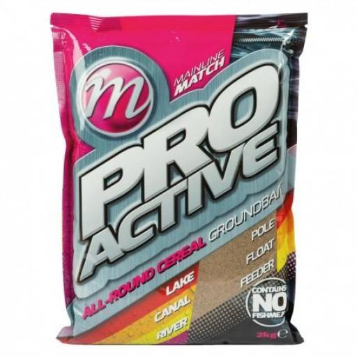 MAINLINE MATCH PRO ACTIVE ALL-ROUND CEREAL GROUNDBAITS 2KG