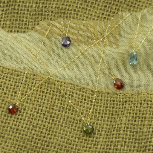 Gargantilla Oro con piedra Ref. 4935 [1]