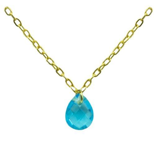 Gargantilla Oro con piedra Ref. 4935