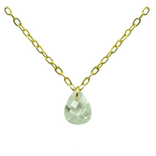 Gargantilla Oro con piedra Ref. 4936