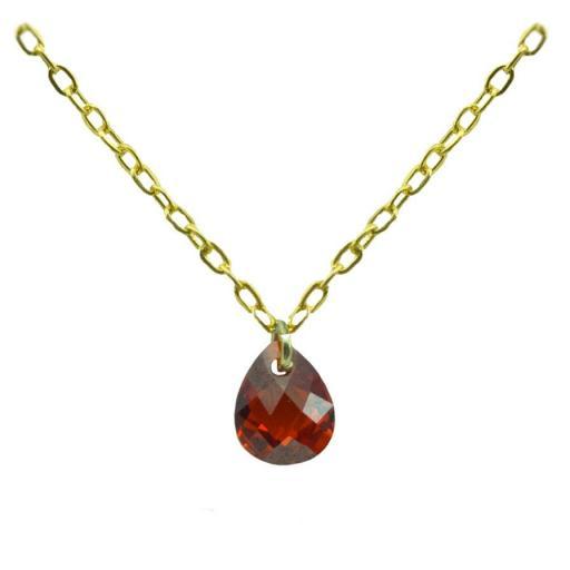 Gargantilla Oro con piedra Ref. 4937
