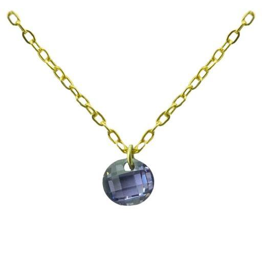 Gargantilla Oro con piedra Ref. 4927