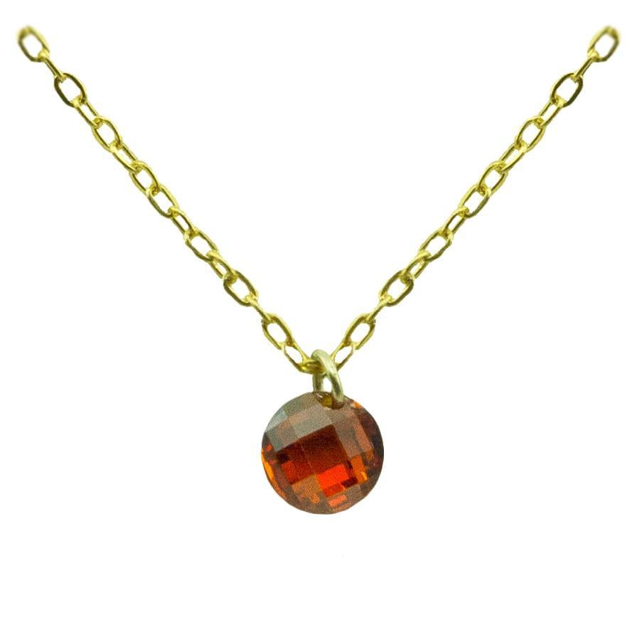 Gargantilla Oro con piedra Ref. 4928