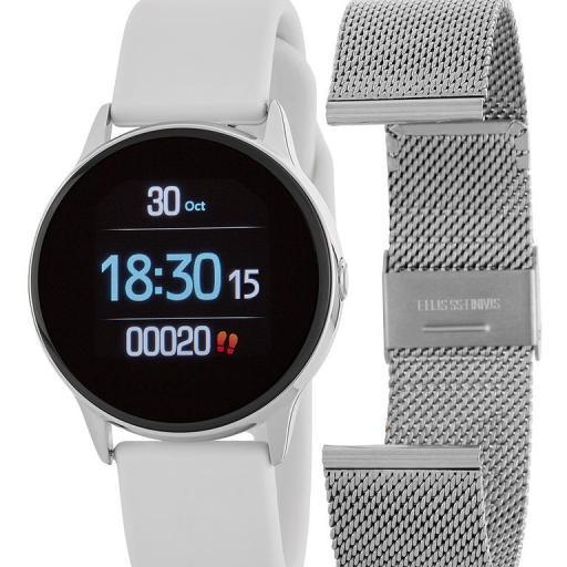Reloj Smartwatch Marea Mujer 2 Correas Ref. B58001/3