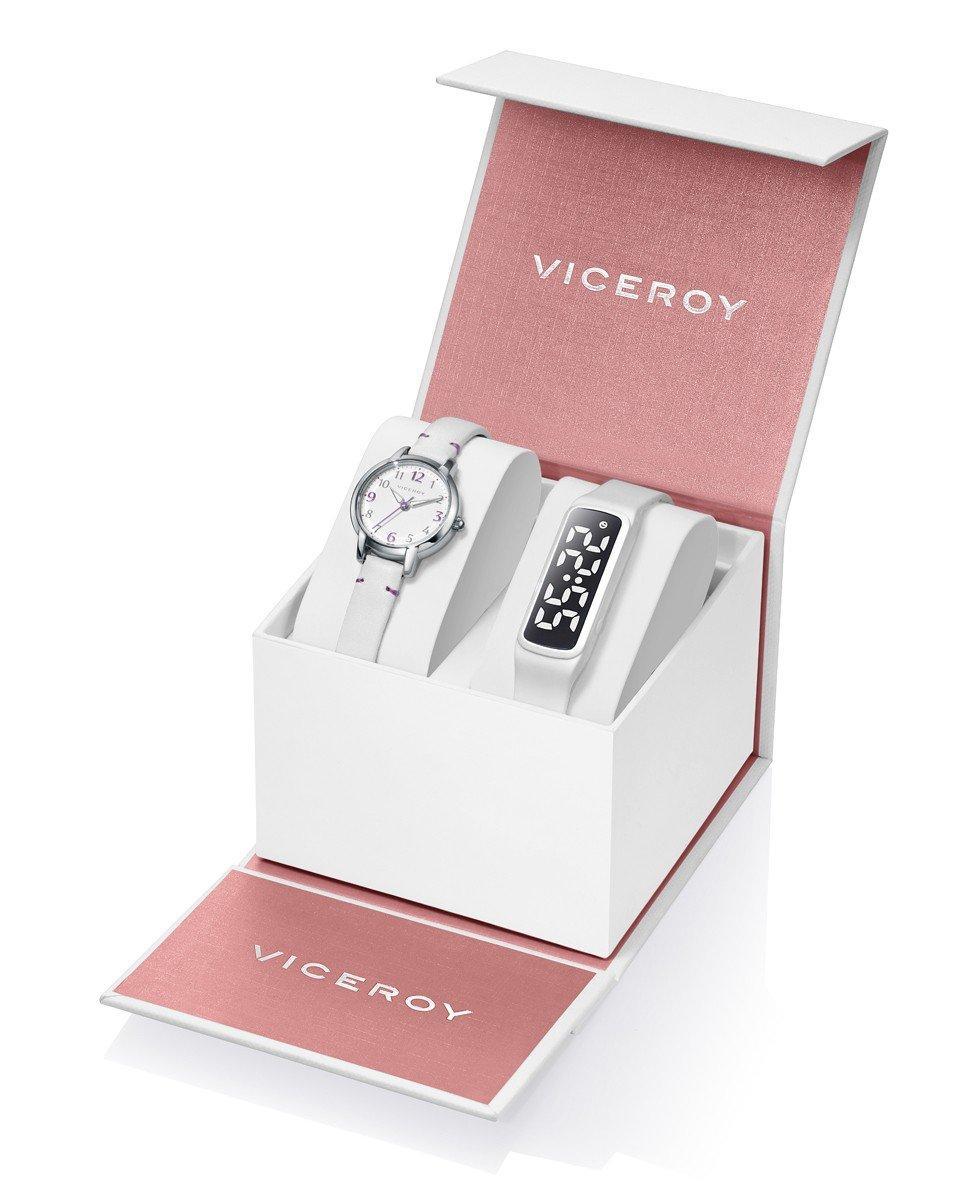 Pack reloj Niña Comunión Viceroy + pulsera/actividad Ref. 461136-05