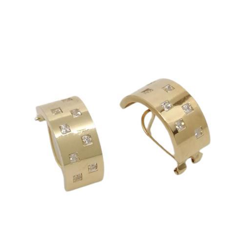 Pendientes Oro 18K Ref. P114 [1]