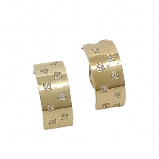 Pendientes Oro 18K Ref. GALI002