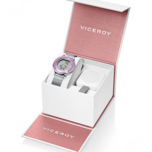 Pack reloj Niña Comunión Viceroy + altavoz Ref. 401116-00